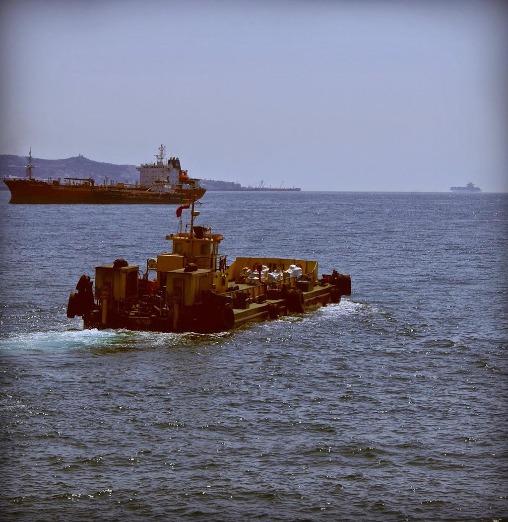 Fondeaderos del Puerto Bahía de Algeciras