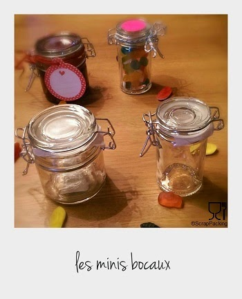 Mini bocal verre