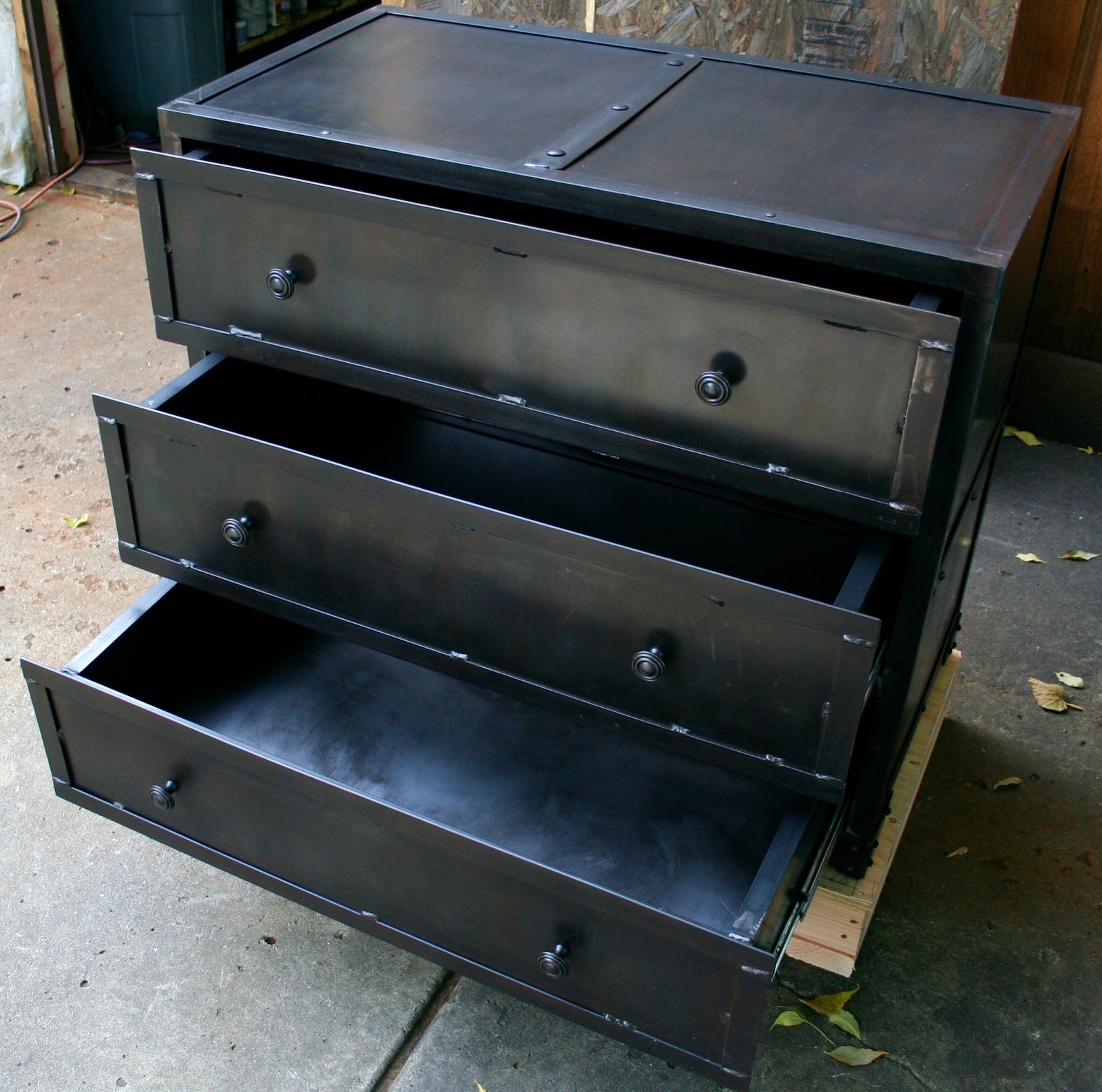 Real Industrial Edge Furniture Llc Industrial Metal Chest Of Drawers