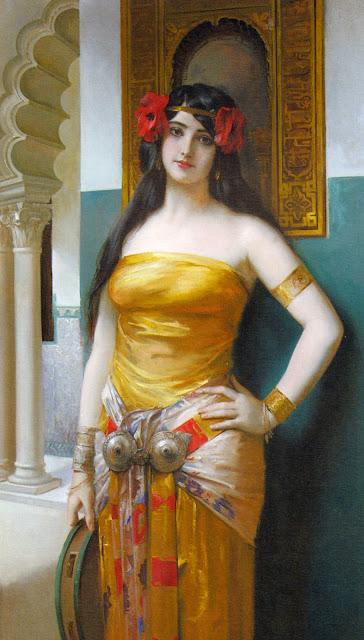 Arab Beauty,Léon François Comerre, orientalism