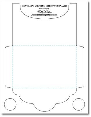 Mel Stampz Over  Envelope Templates And Tutorials