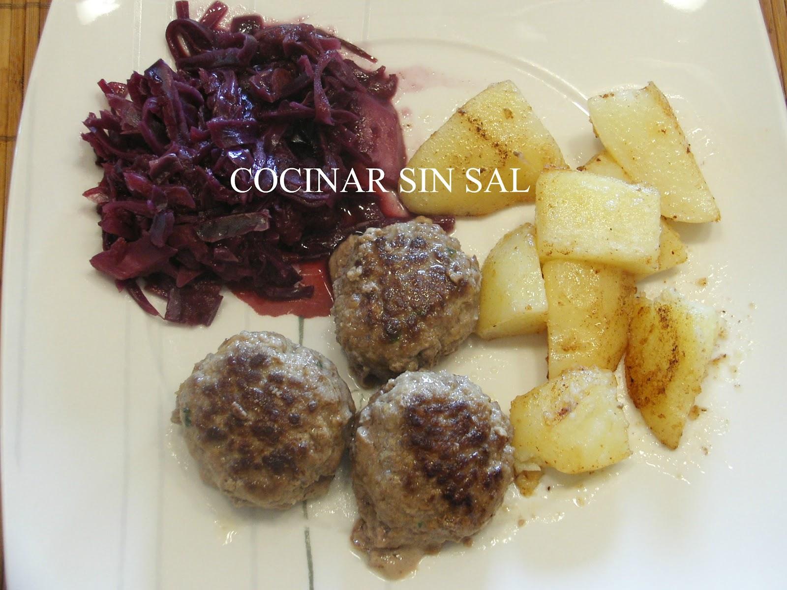 Cocinar sin sal lombarda con manzana sin sal for Cocinar lombarda