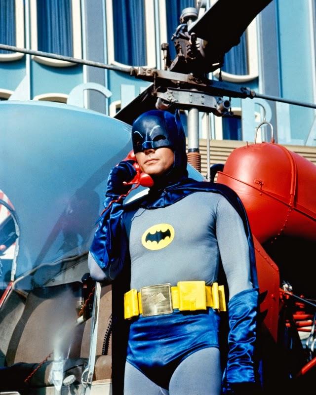 Batman On Phone
