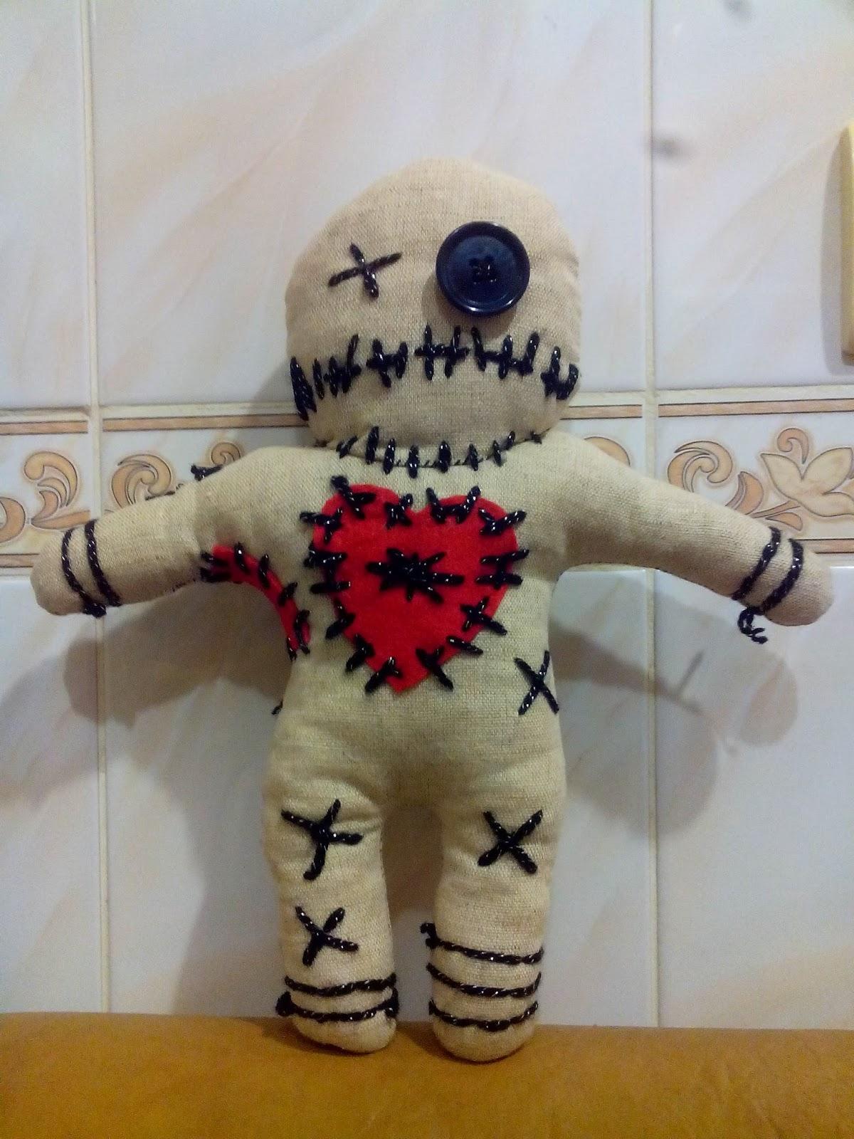 Сшить куклу вуду своими руками