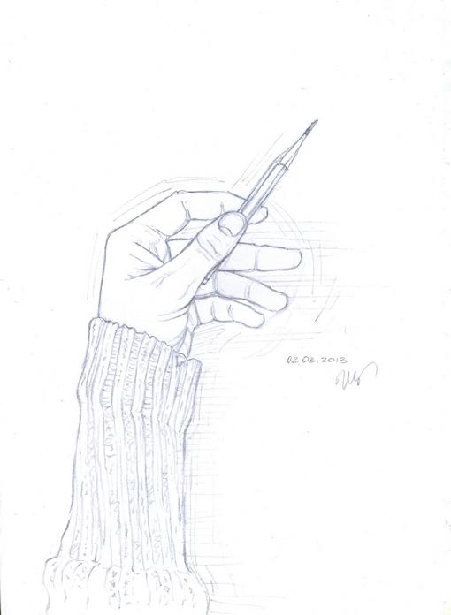рисунок руки