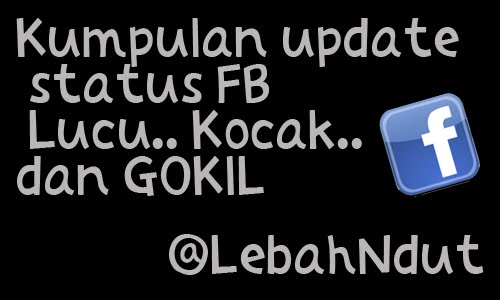 Kumpulan Update Status Facebook Lucu Kocak Gokil Terbaru