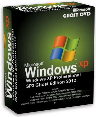 Windows XP Professional SP3 Ghost Edition 2012