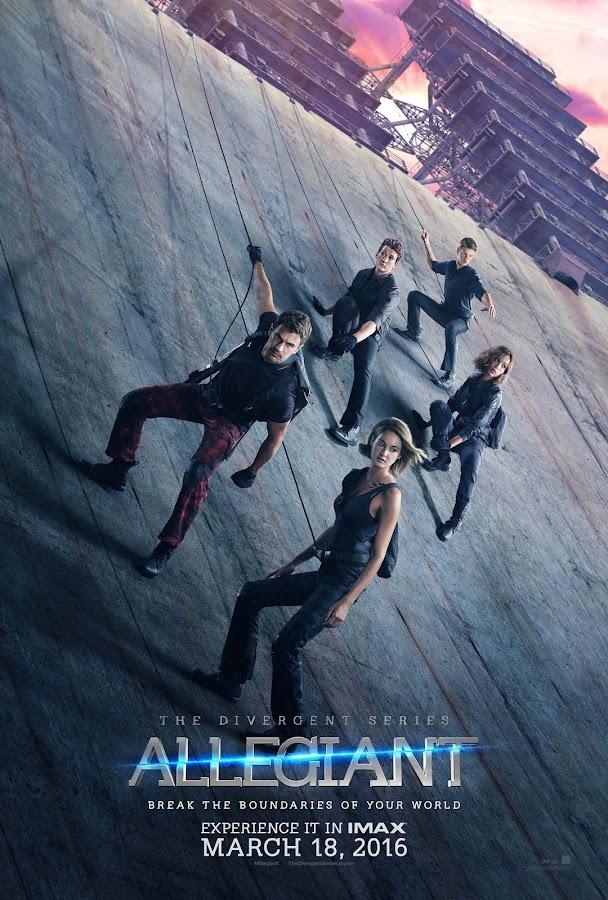 ตัวอย่างหนังใหม่ : The Divergent Series: Allegiant (อัลลีเจนท์ ปฏิวัติสองโลก) ซับไทย poster