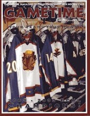 Vernon Vipers 2003-04 Program (Third Edition)