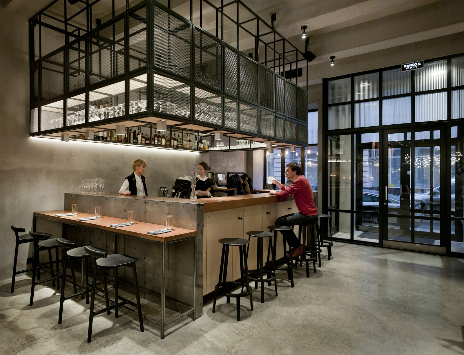 Kaper design restaurant hospitality design inspiration for Interior cafe designs