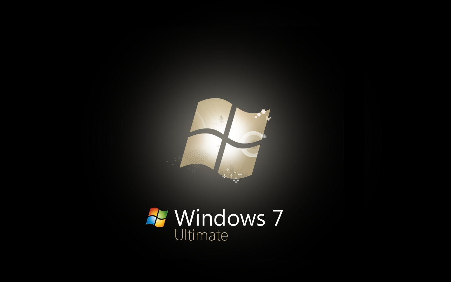 Windows 7 Ultimate Black Edition