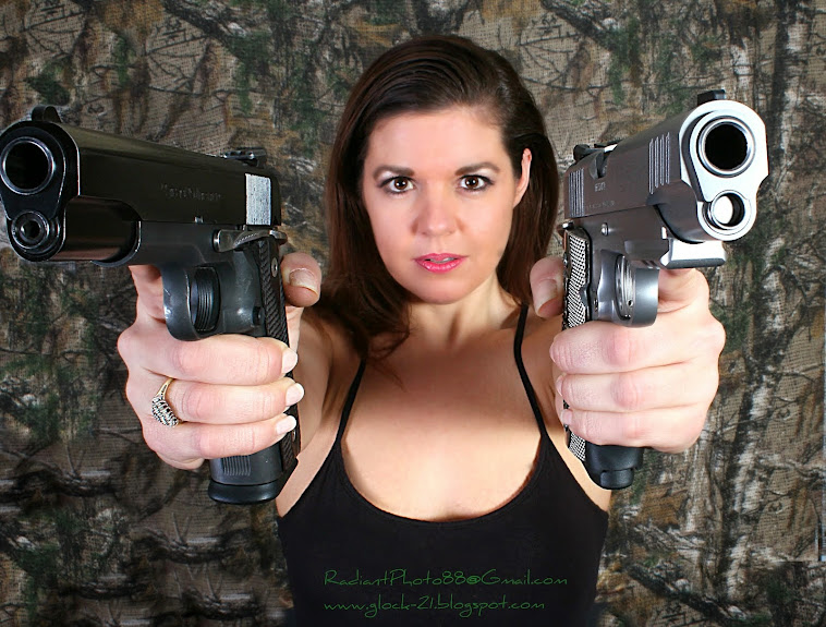 Michelle and her 1911s