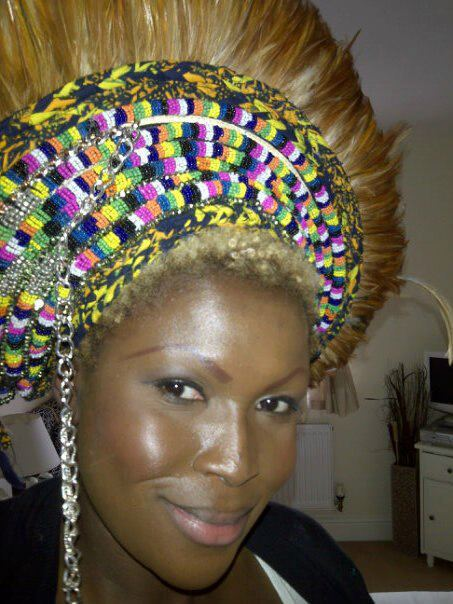 Anita Quansah wearing a new piece - iloveankara.blogspot.co.uk