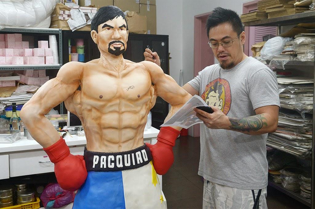 Ini Dia: Kue Spesial Manny Pacquiao