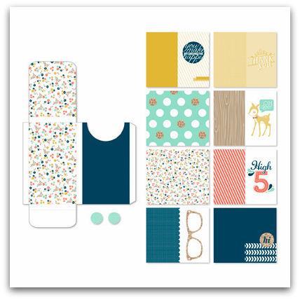 Stampin' Up! Gift Cards and Box Digital Designer Template