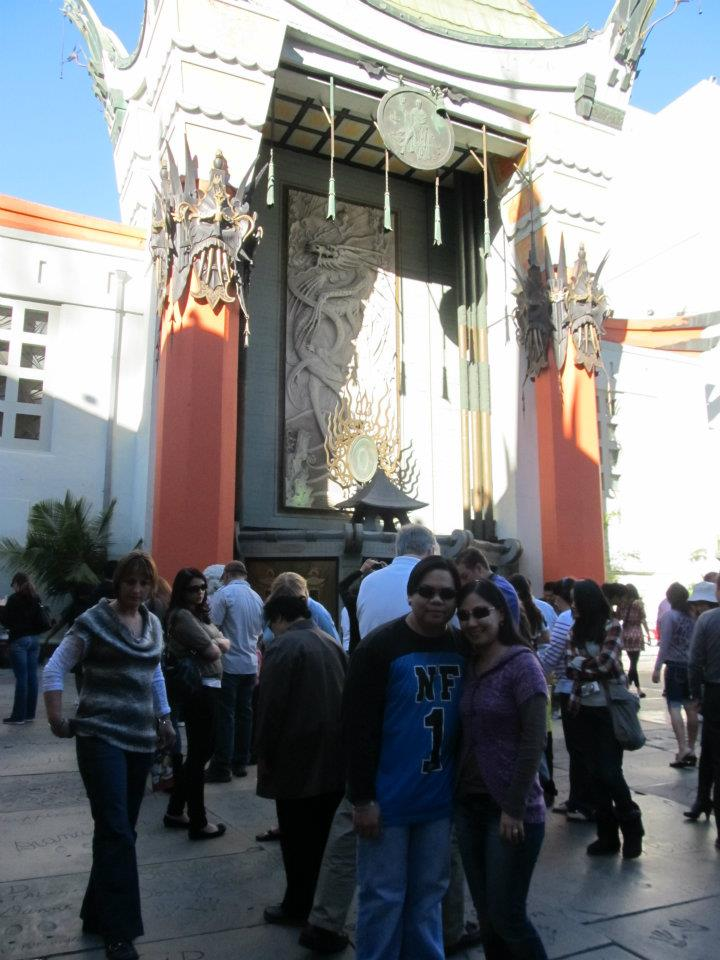 Hollywood TCL Chinese Theatre or Grauman's Chinese Theatre