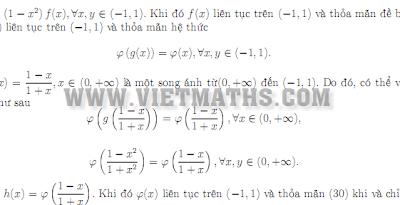 Cách giải toán phương trình hàm cơ bản, cach giai toan phuong trinh ham