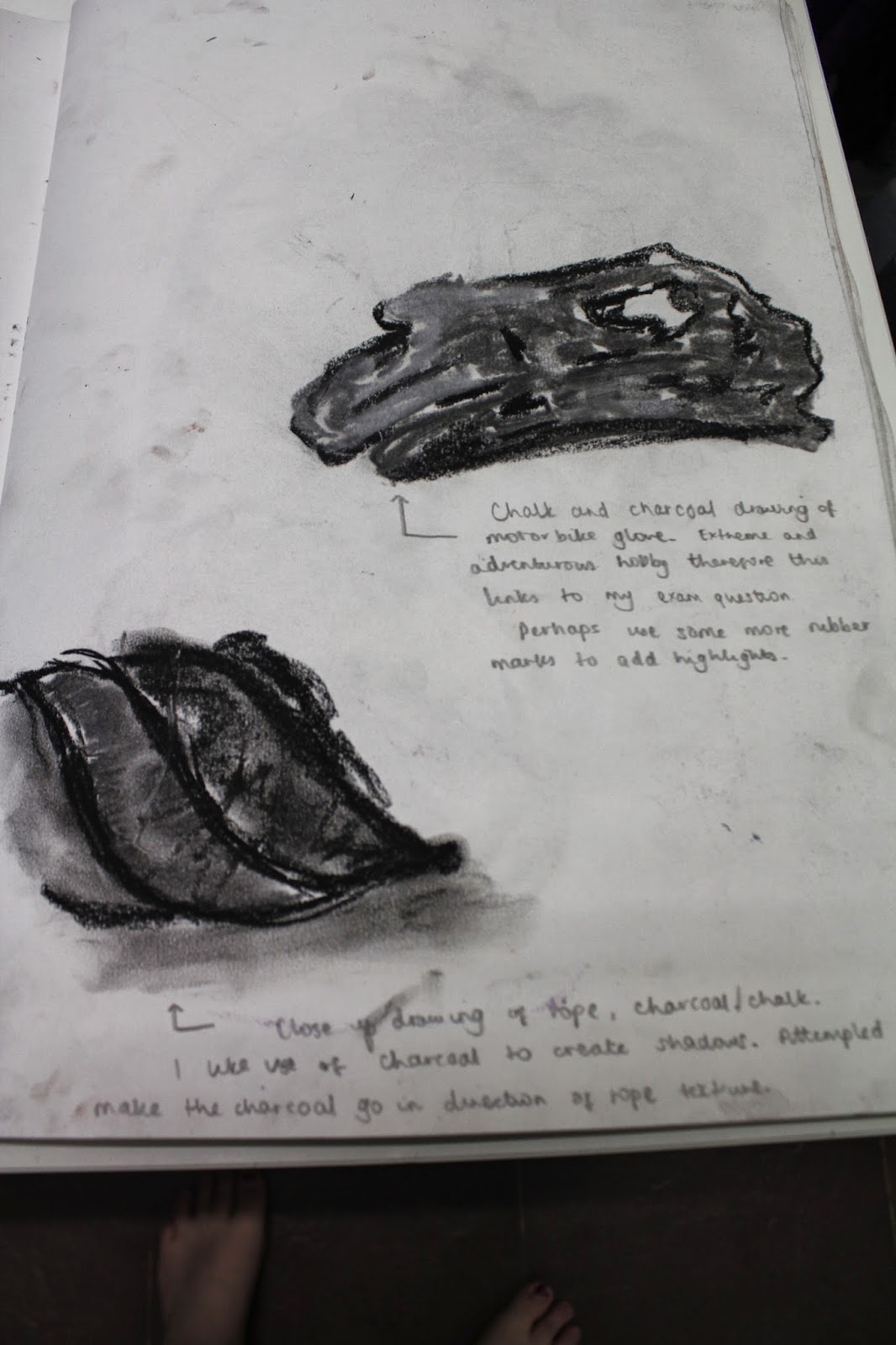 Page Two Of Observational Drawings