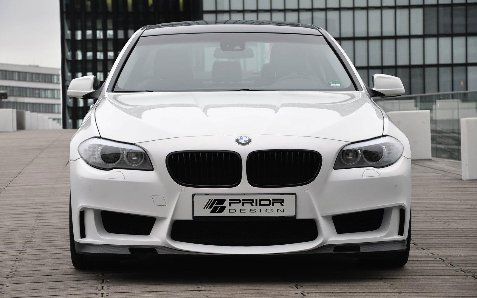 Bmw 5 Series F10 With Prior Design Body Kit Sport Cars