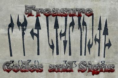 Treasure Codes and Signs