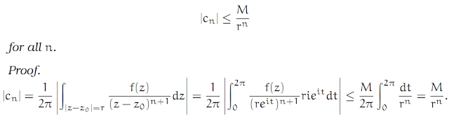 Complex Analysis: #7 Some Standard Theorems of Complex Analysis equation pic 2