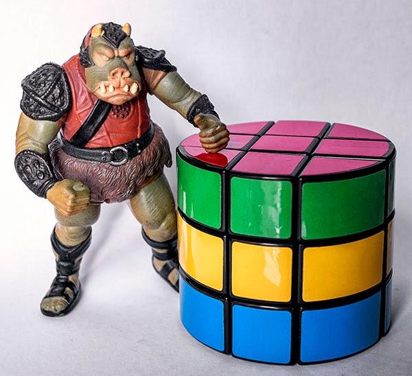 Rubik 3x3x3 cilíndrico paridad y orientación de centros
