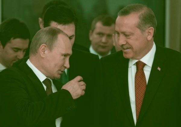 Путин и Эрдоган (архив)