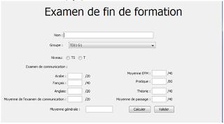 EP - Examens de Passage Pratique 2011 V4-V5-V6 - TDI