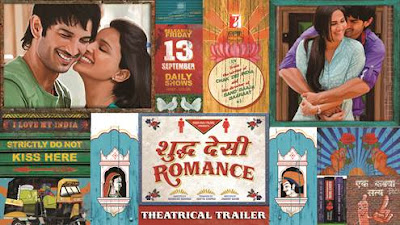 Official Trailer of Shuddh Desi Romance