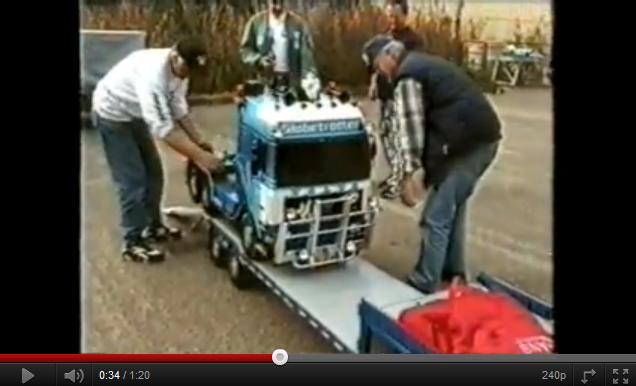videos de camiones rc radio control volvo fh16