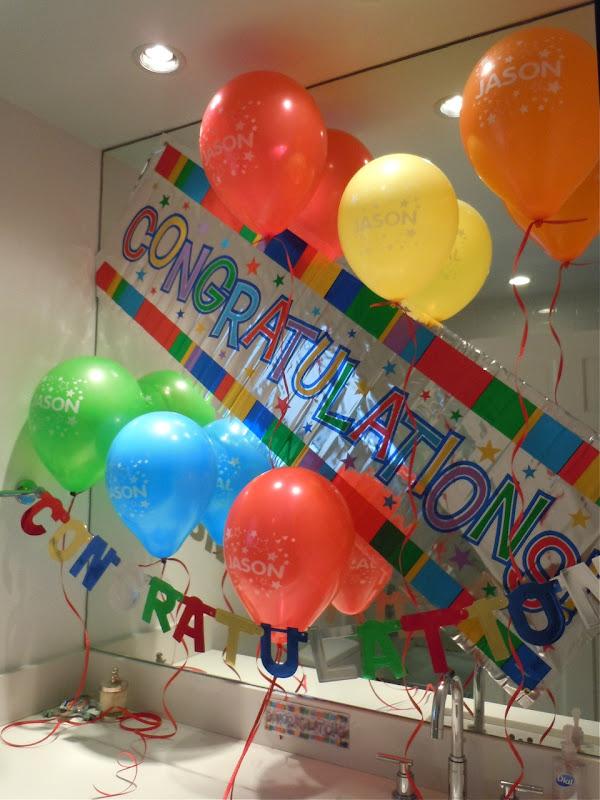 Congratulations surprise