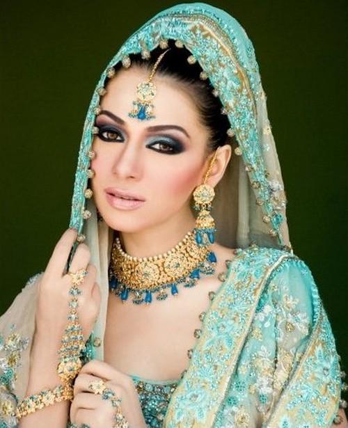 Bridal Makeup New Pics : Fashion world latest Fashion: Pakistan bridal make-up.
