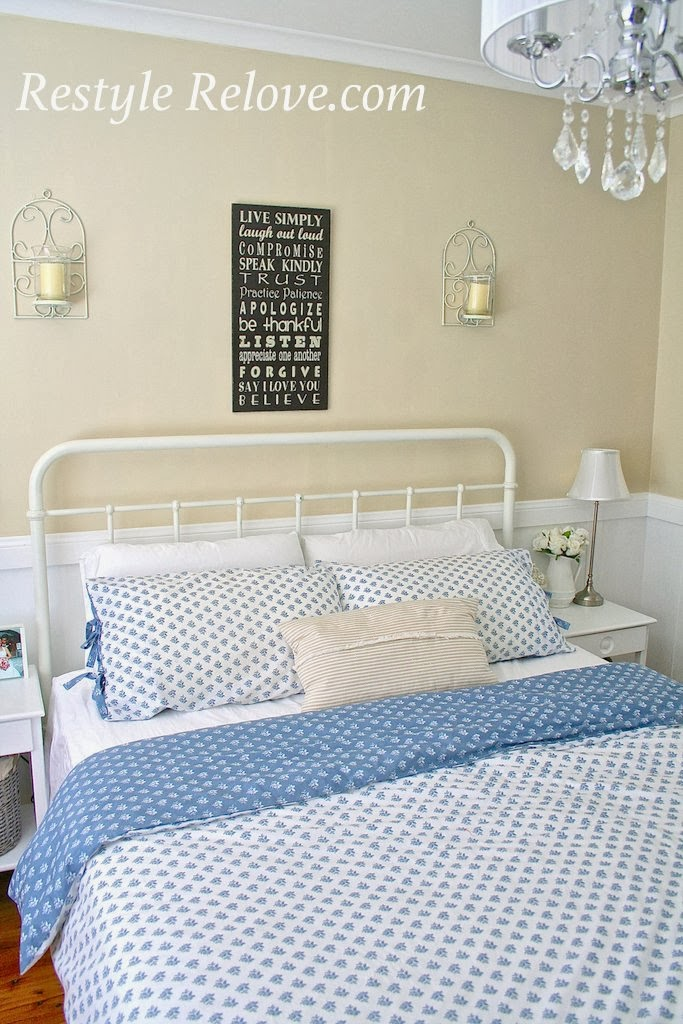 Farmhouse Style Master Bedroom Makeover