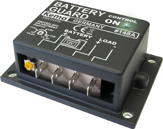 Protector de baterías para alargar la vida de éstas.