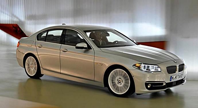 2017 BMW 5 Series Sedan Rendering