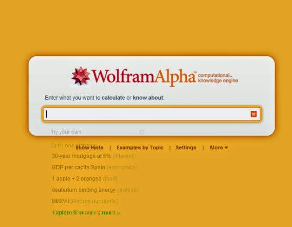 WolframAlpha Seach Engine Logo