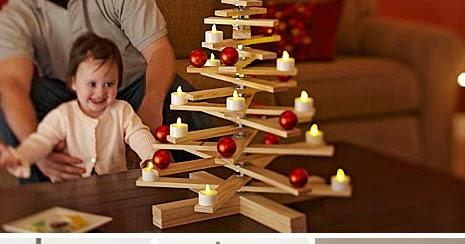adornos navideos de madera