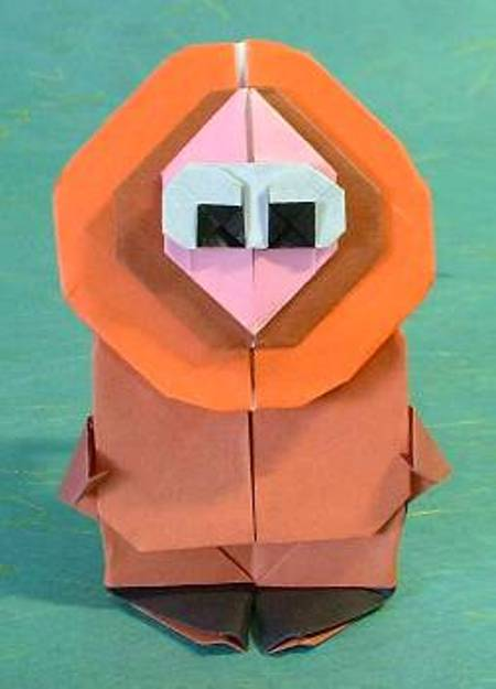 Origami Kenny Halle 1 3d Make Origami Easy Instructions