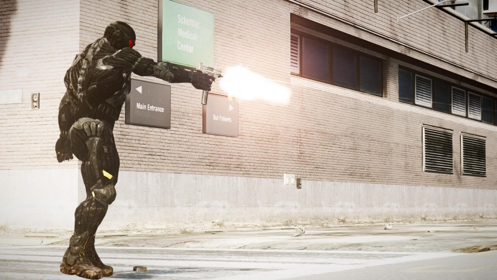 GTA 4 MODS:One Handgun Animation ~ Grand Theft Auto