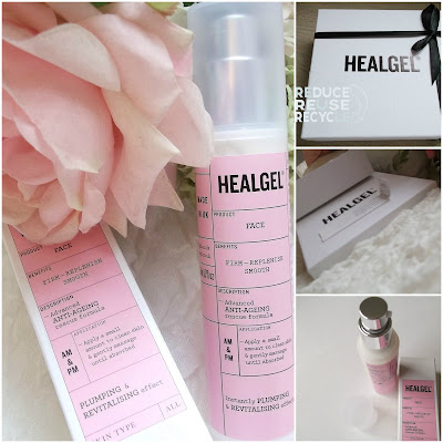 HealGel face review by TheLavenderbarn.blogspot.co.uk