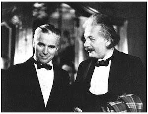 Charles Chaplin y Albert Einstein