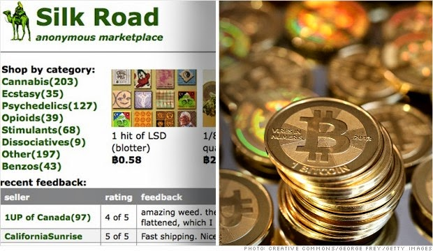 Silkroad and Bitcoin