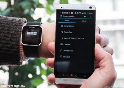 Smartwatch connectivity