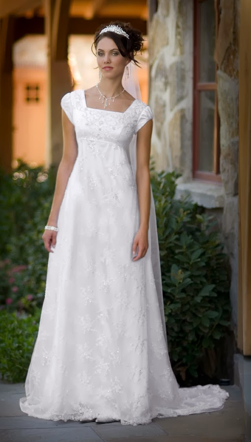 Used Modest Wedding Dresses For  : Modest wedding dresses bavarian