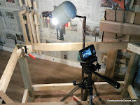 How to record a woodworking video. Rummageinthegarage