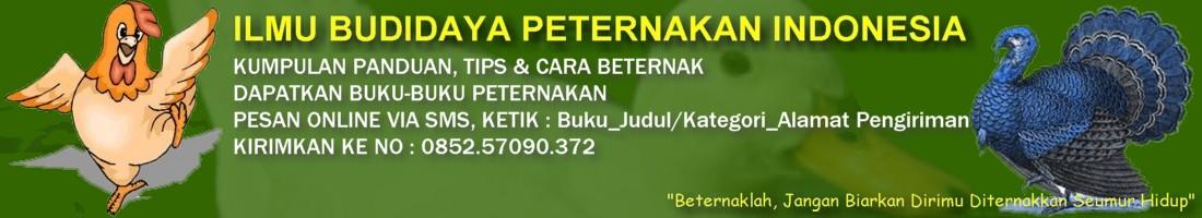 ILMU BUDIDAYA PETERNAKAN INDONESIA