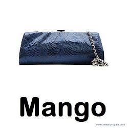Queen Letizia Style MANGO Clutch Bag