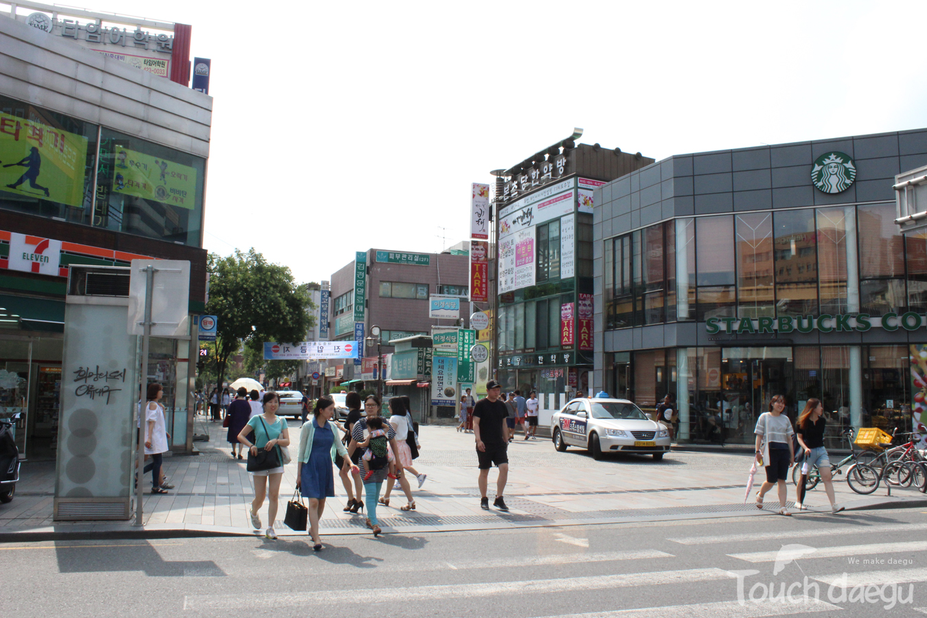 The souvenir shops are located in Yakjeon Alley