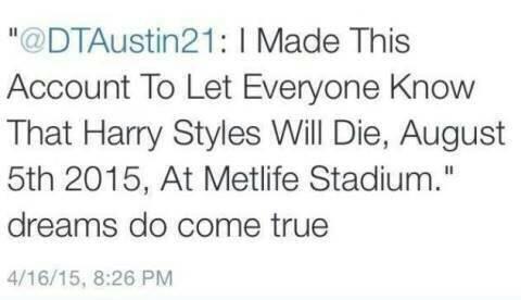 Harry Styles Death Threat MetLife Stadium