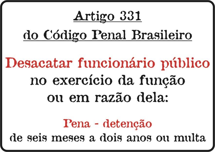 Artigo 331 do cp
